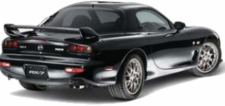 Mazda Sequential Twin Turbo Systems RX7